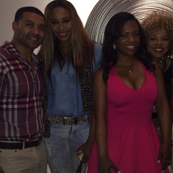 Which Real Housewives of Atlanta Couple Would Kandi Burruss Have a Key Party With? (VIDEO)