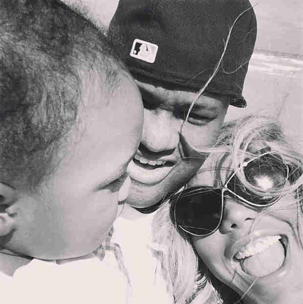 "Tamar Braxton Talks Baby Son Logan: ""He's a Little Benjamin Button"""