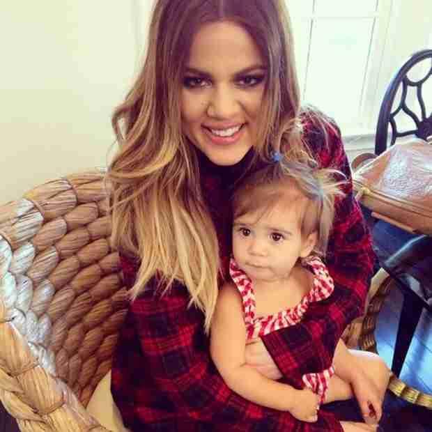 Pregnant Kourtney Kardashian Shares New Photo of Penelope — Look How Big She's Getting!