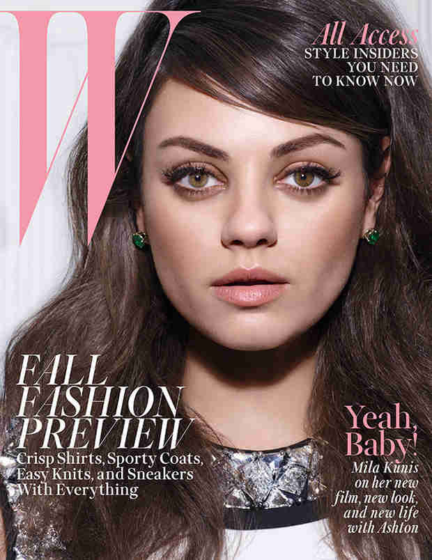 Pregnant Mila Kunis on Her First Kiss With Ashton Kutcher, Marriage, and Motherhood (VIDEO)