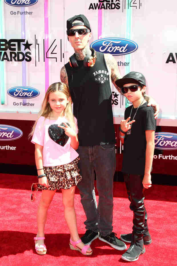 Travis Barker and Shanna Moakler's Kids Went to the BET Awards — See How Big They Are! (PHOTO)