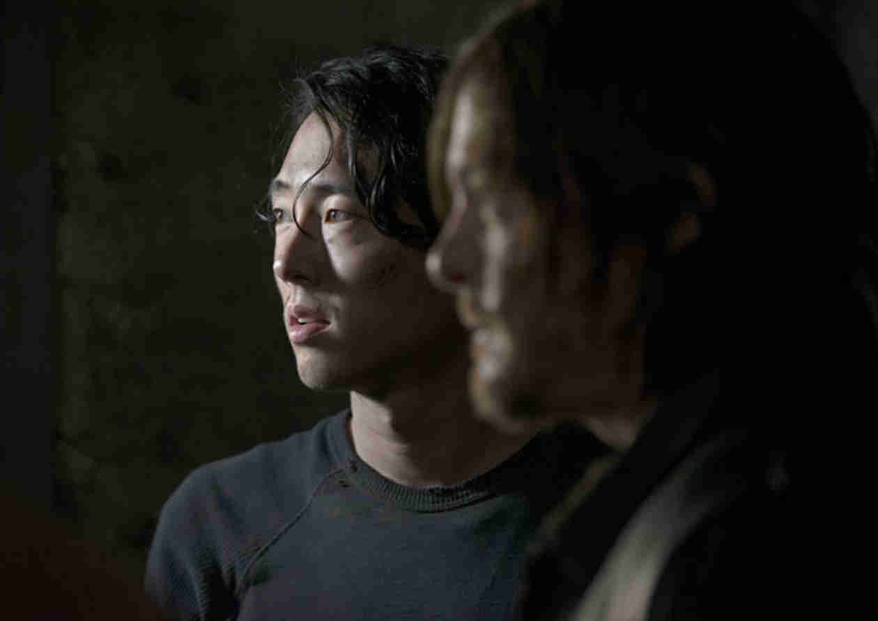 New The Walking Dead Season 5 Photo: Glenn and Daryl in … Terminus?