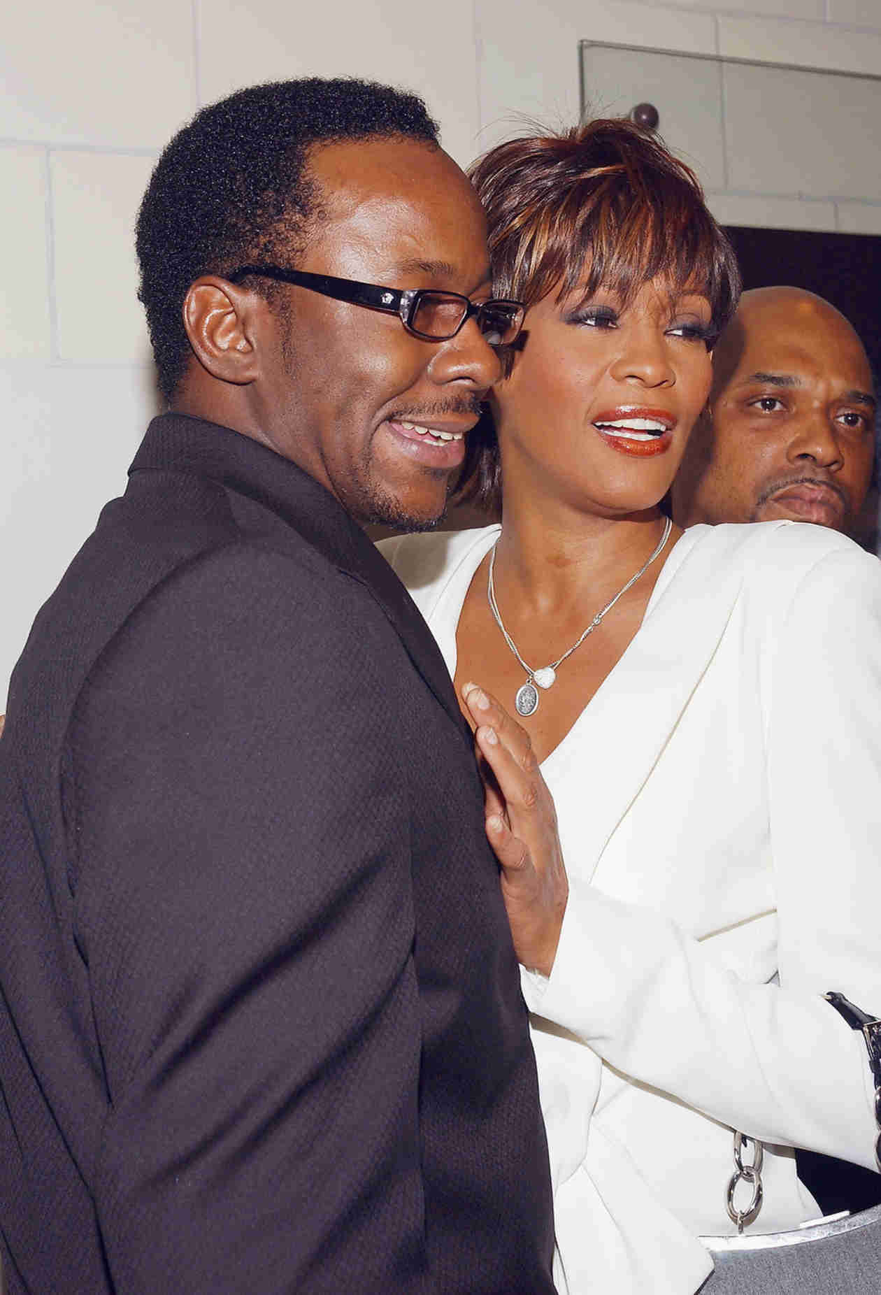 Yaya DaCosta and Arlen Escarpeta as Whitney Houston and Bobby Brown Together! (PHOTO)