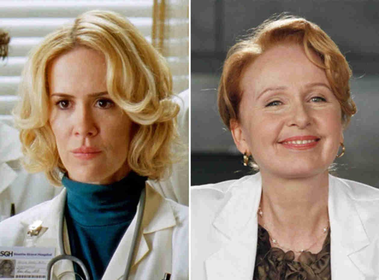 Grey's Anatomy Season 11 to Show Ellis Flashbacks — But With Sarah Paulson or Kate Burton?