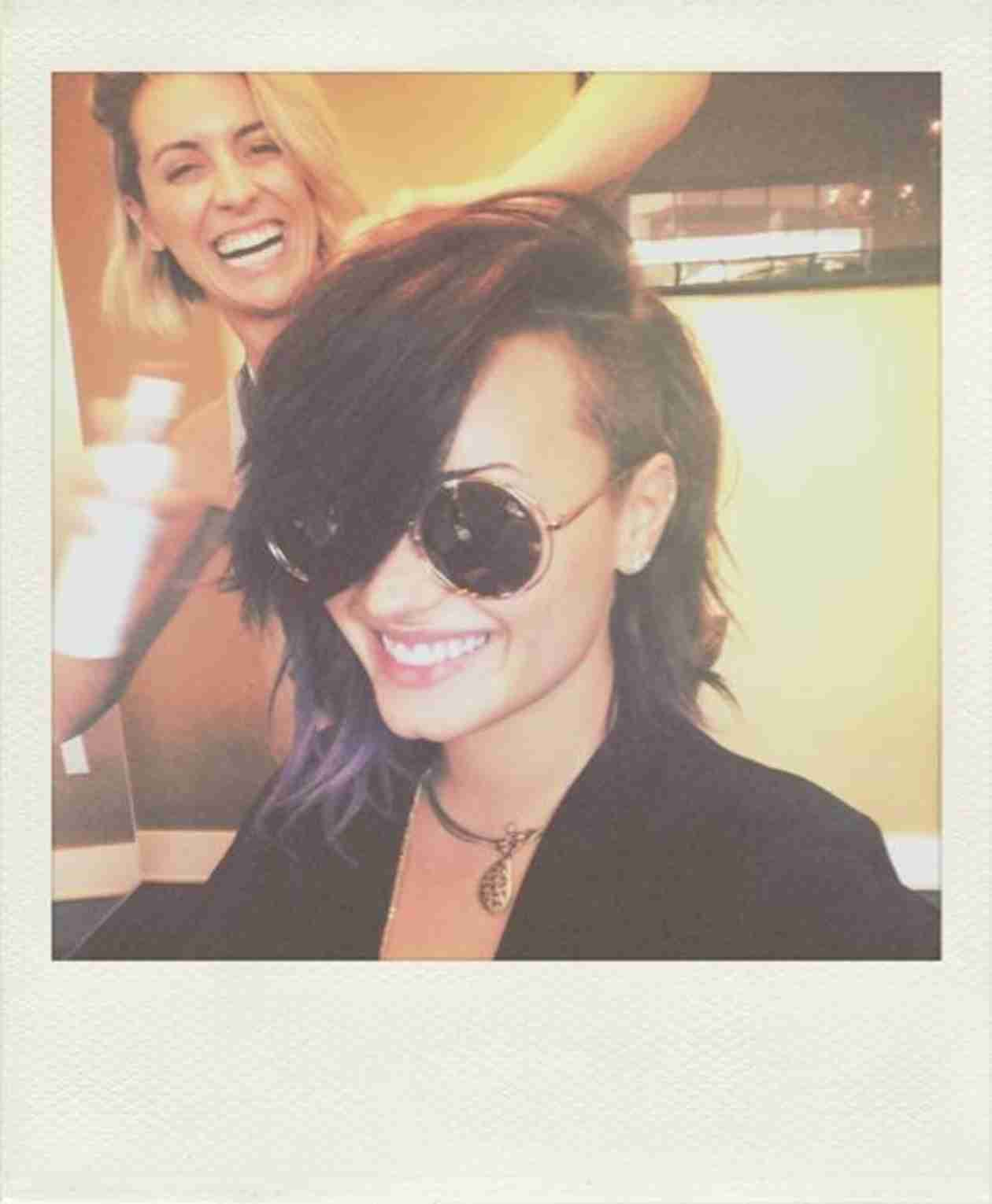Demi Lovato's New Haircut Was Inspired by Julianne Hough — Love It? (PHOTOS)