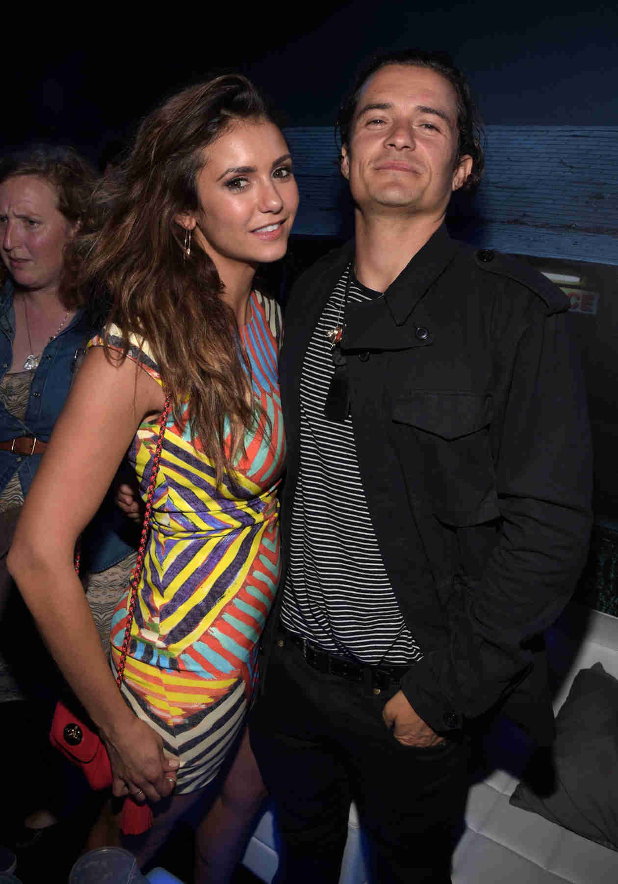 Nina Dobrev Hangs Out With Orlando Bloom at Comic-Con (PHOTO)
