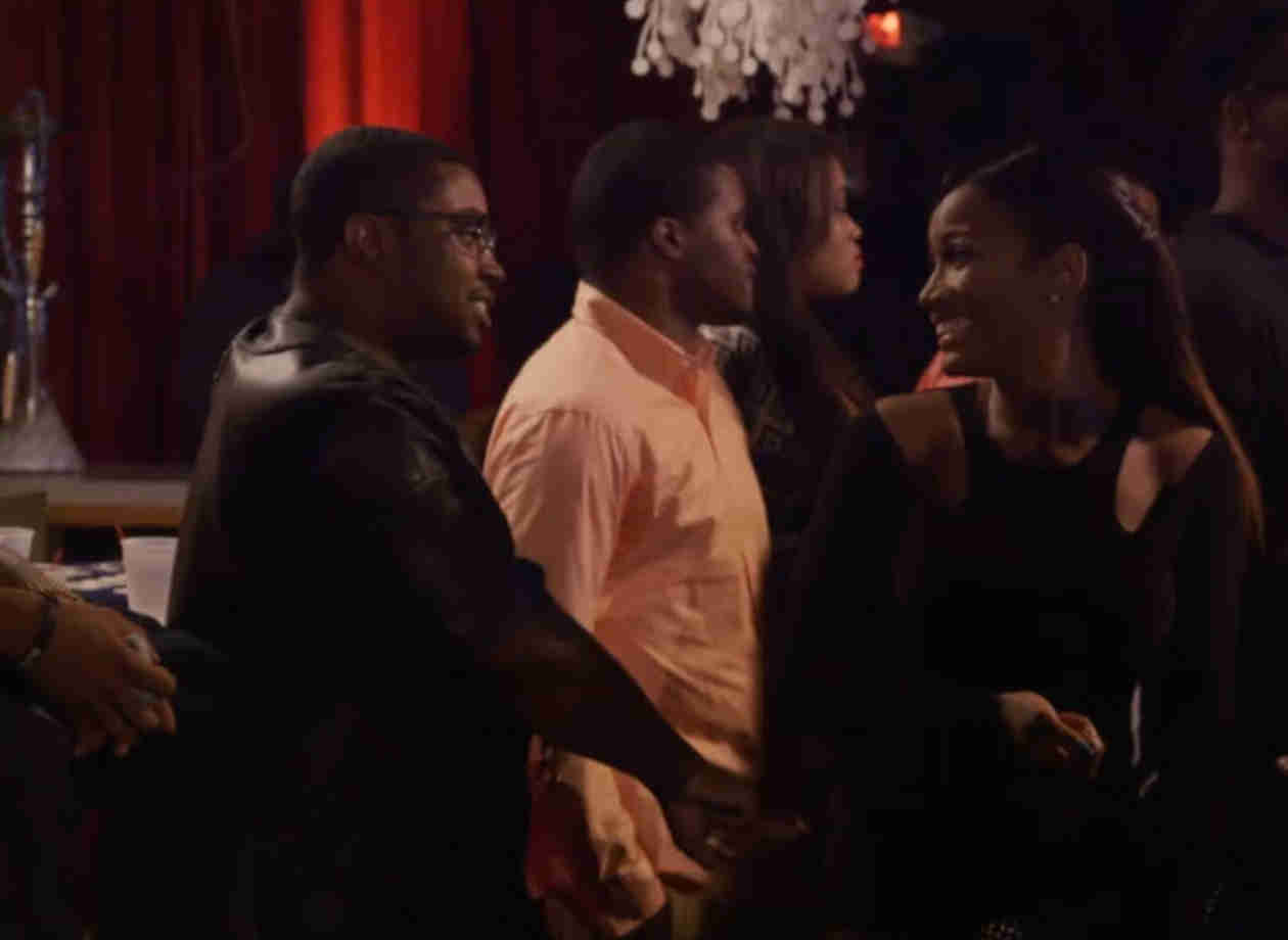 Erica Dixon and Lil Scrappy Get Flirty — Is There a Chance For Romance?(VIDEO)