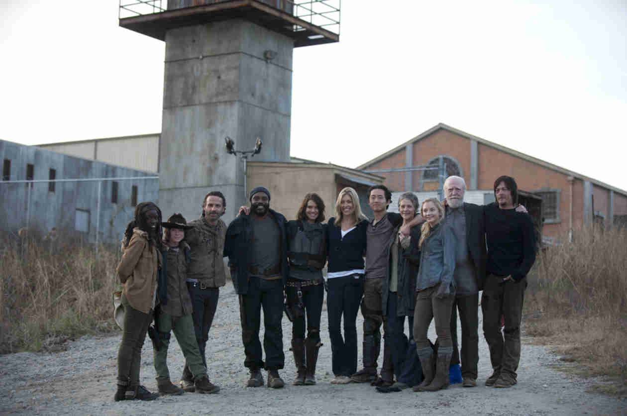 The Walking Dead Season 5 Filming Spoilers: Details on Alexandria Wall