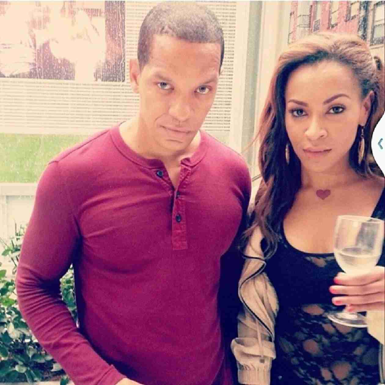 Amina Buddafly Shares Intimate Pregnancy Pic With Peter Gunz! (PHOTO)