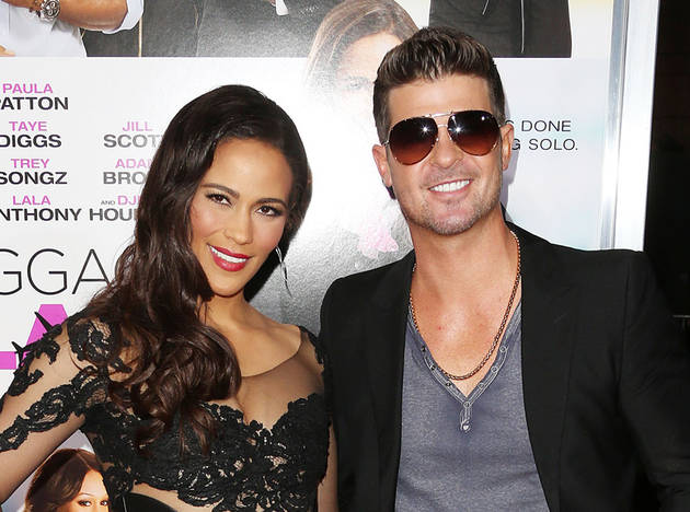 Robin Thicke And Paula Patton Haven't Seen Each Other in Four Months (VIDEO)