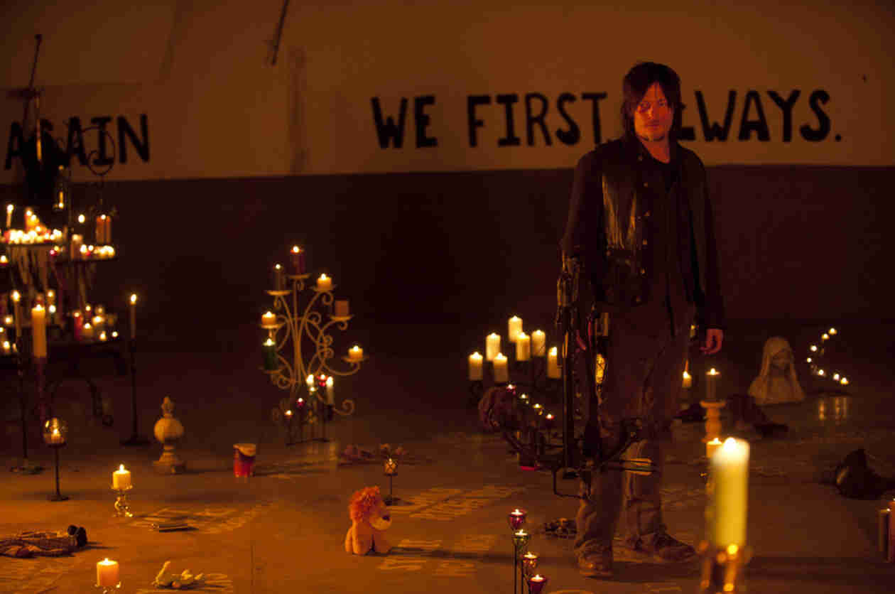 "The Walking Dead Season 5 Summed Up in One Word, Plus Cryptic New ""Sanctuary"" Tease"