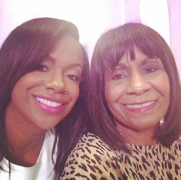 "Kandi Burruss Says ""Things Are Better"" Between Todd and Mama Joyce"