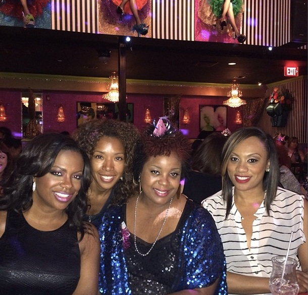 Kandi Burruss Hangs Out With Carmon Cambrice (PHOTO)