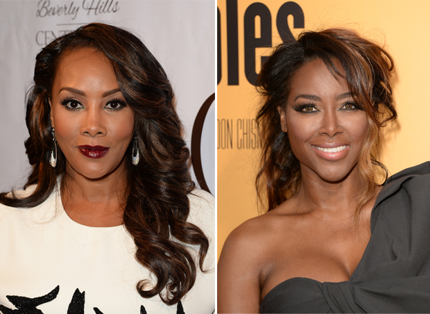 Vivica A. Fox Slams Kenya Moore For Attending BET Awards