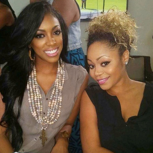 Porsha Stewart Dines With Former Destiny's Child Member, LaTavia Roberson (PHOTO)