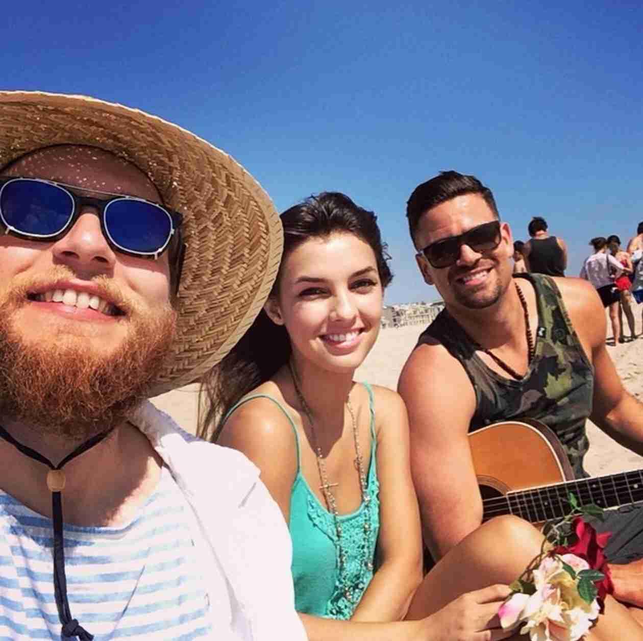 Mark Salling Dating 19-Year-Old Disney Star, Denyse Tontz