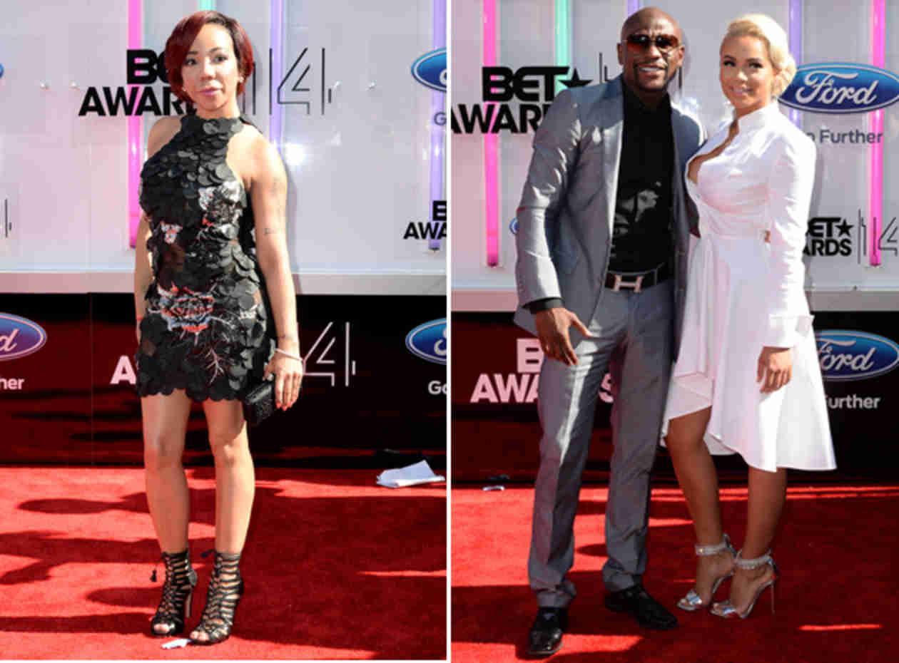 Is Tiny Defending Floyd Mayweather's Comments? Hear What She Says! (VIDEO)
