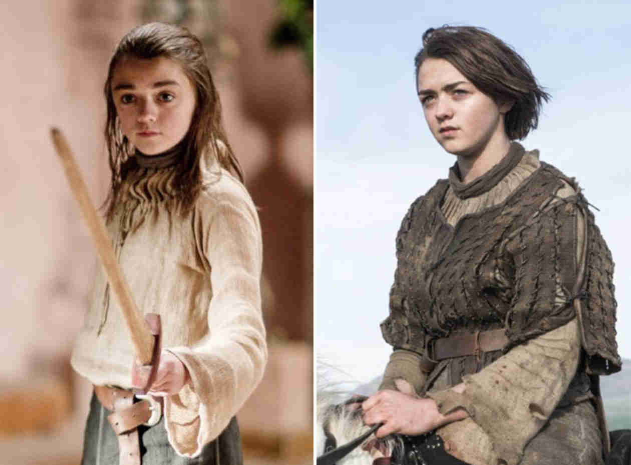 Game of Thrones Transformation: Arya Stark Season 1 Until Now
