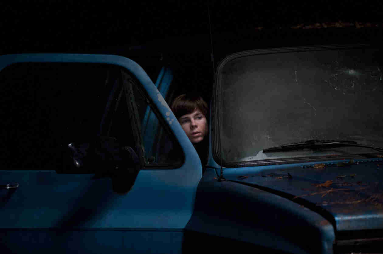 "Chandler Riggs on The Walking Dead Season 5: ""Intense Is an Understatement"""