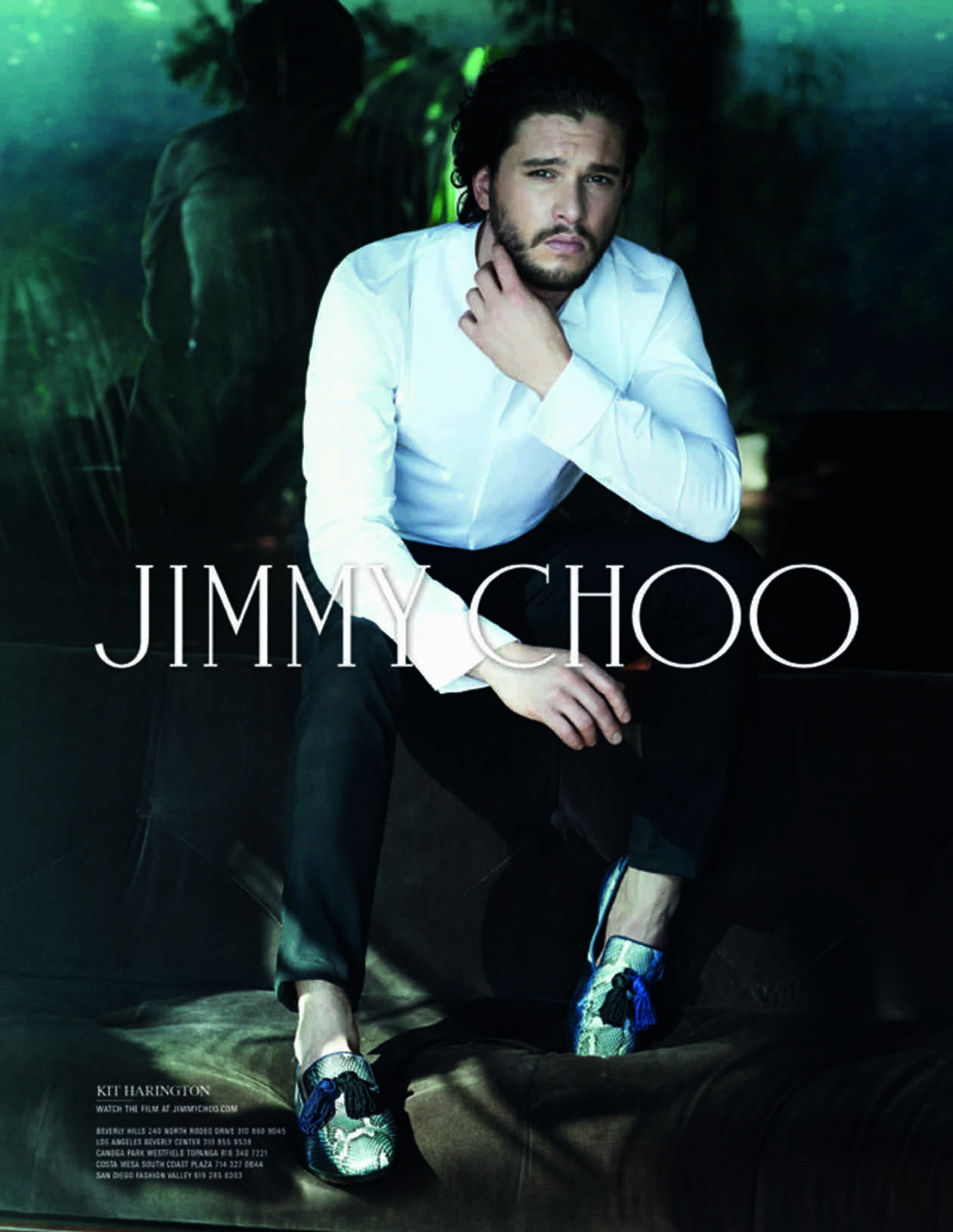 Game of Thrones's Kit Harington Suits Up for Sexy Jimmy Choo Ad Campaign