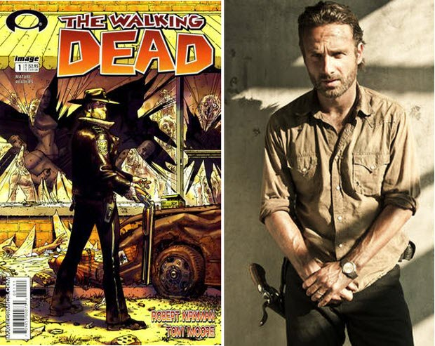 The Walking Dead: Robert Kirkman Compares Rick Grimes of TV to Comic Book