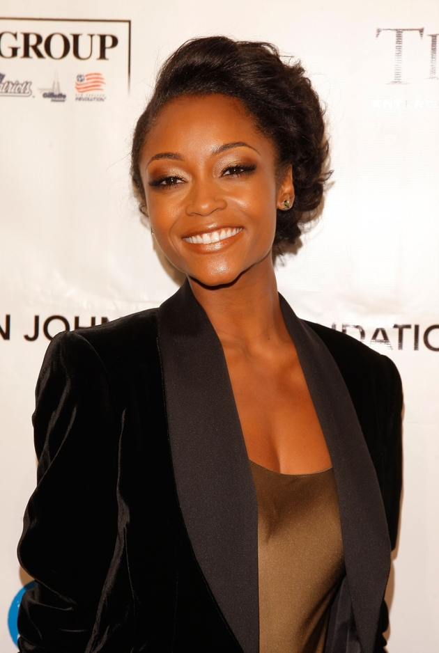 Yaya DaCosta Unveils First Look as Whitney Houston in Lifetime Biopic — See Her Now!