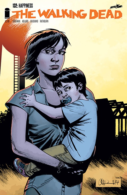 The Walking Dead Comic Book Spoilers, Issue 130: Baby's Name; Negan, Magna Status; Talking Zombies?