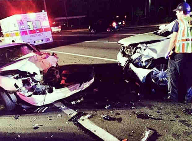 "Dwayne ""The Rock"" Johnson's Mom, Cousin Hit By Drunk Driver — See Scary Crash Photo (UPDATE)"