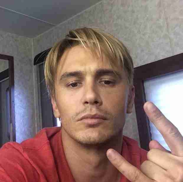James Franco Goes Bleach Blond! He's Nearly Unrecognizable (PHOTO)