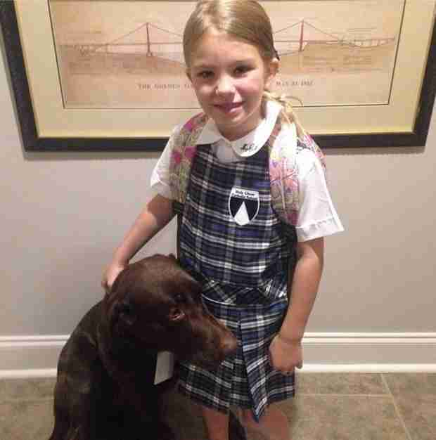Jamie Lynn Spears's Daughter Starts First Grade! (PHOTO)