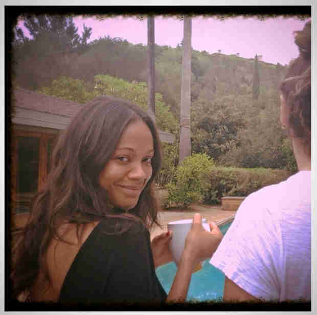 Pregnant Zoe Saldana Finally Speaks Out! — See What She Had to Say (PHOTO)