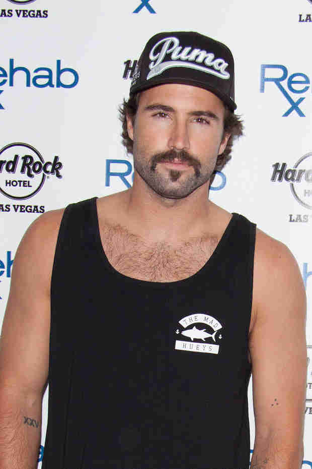 Brody Jenner's New Handlebar Mustache and Goatee — Creepy or Cute? (PHOTO)