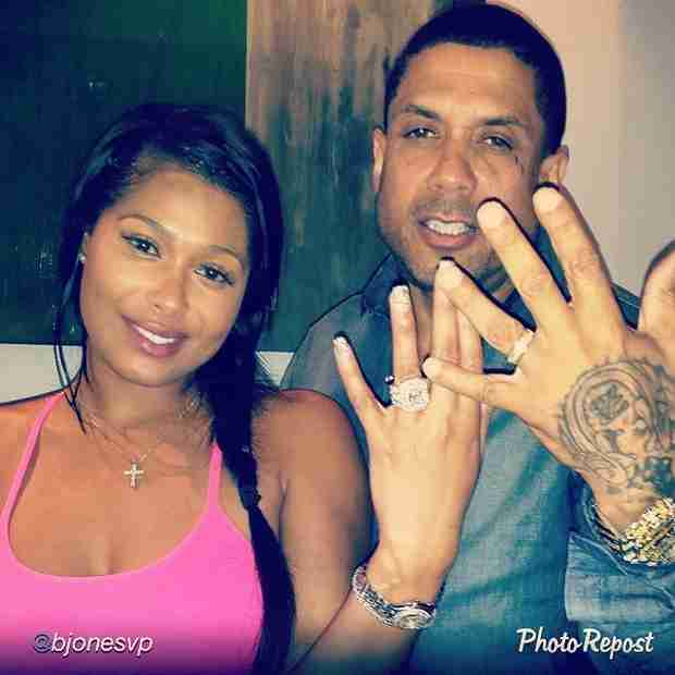 Did Benzino and Althea Heart Officially Tie the Knot? Couple Show Off Their Rings! (PHOTO)