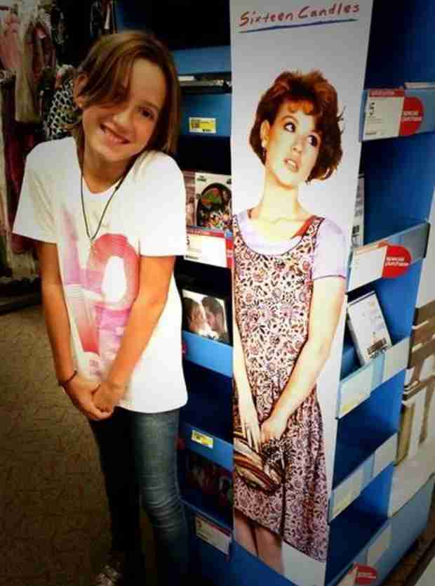 Molly Ringwald's Daughter Mathilda: See Her Sixteen Candles Photo!