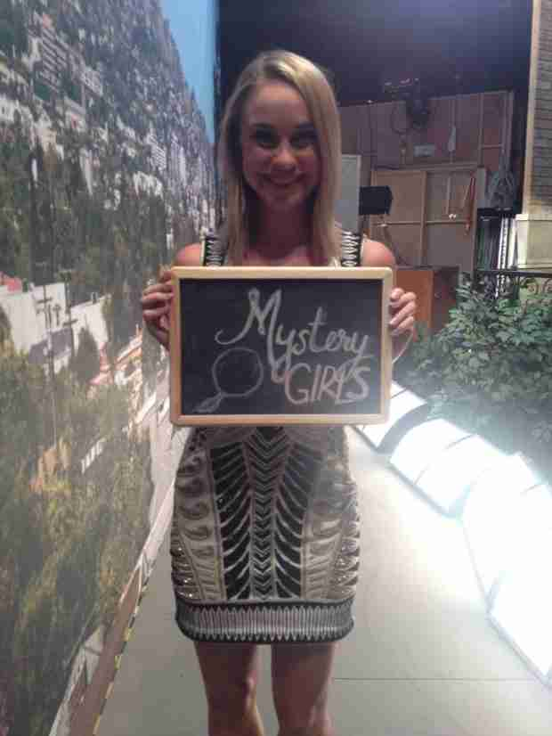 See Becca Tobin on Mystery Girls Set (PHOTO)