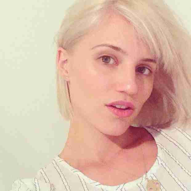 "Dianna Agron Gets a Platinum Blonde Bob Thanks to a ""Midnight Makeover"" (PHOTO)"