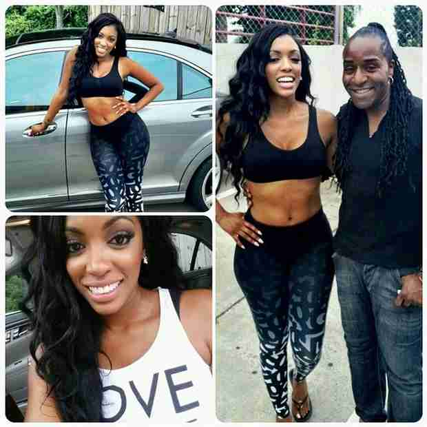 "Porsha Stewart Works With New Choreographers and Vocal Coach, Promises Something ""Marvelous"""