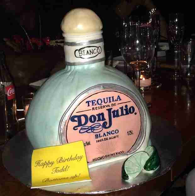 "Todd Tucker Thanks Kandi Burruss For a ""Great"" Birthday Celebration"