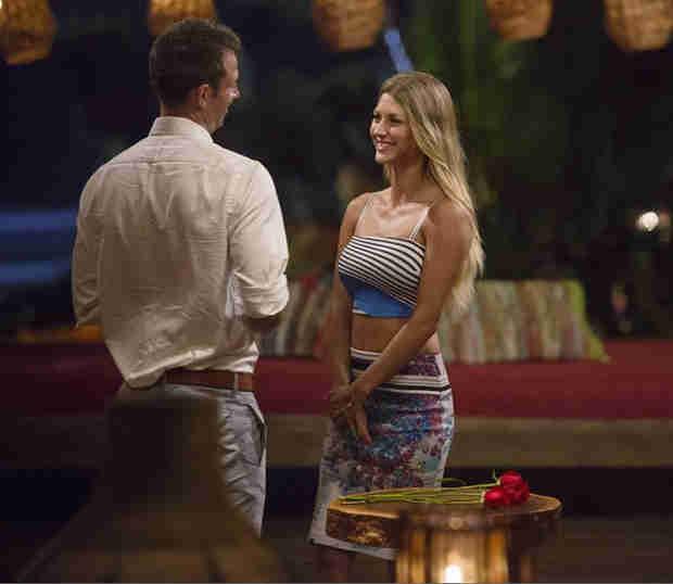 "The Bachelor's Sharleen Joynt Gives AshLee Frazier ""Crazy Award"" For Premiere"