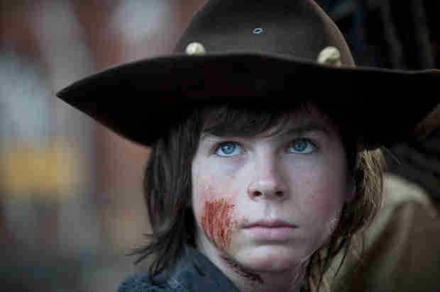 The Walking Dead Spoilers: Will Carl Grimes Lose an Eye?