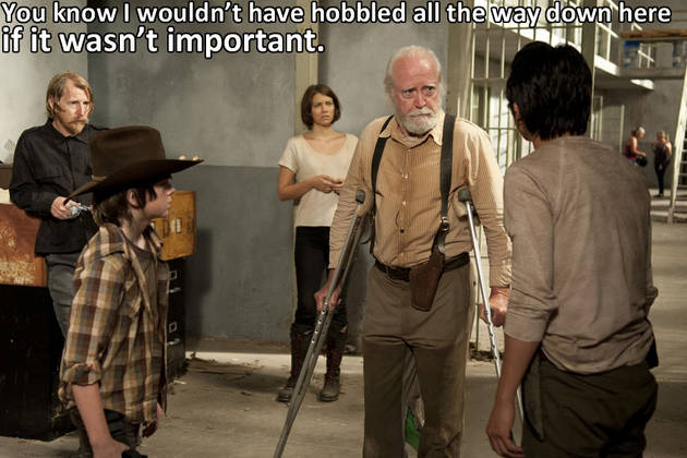 The Walking Dead Season 5 Spoilers: Scott Wilson Seen on Set — Why?