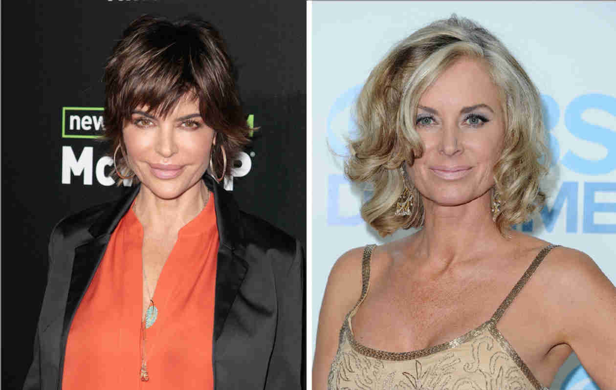 "Lisa Rinna and Eileen Davidson Bringing ""Heated Exchanges"" to RHOBH — Report"