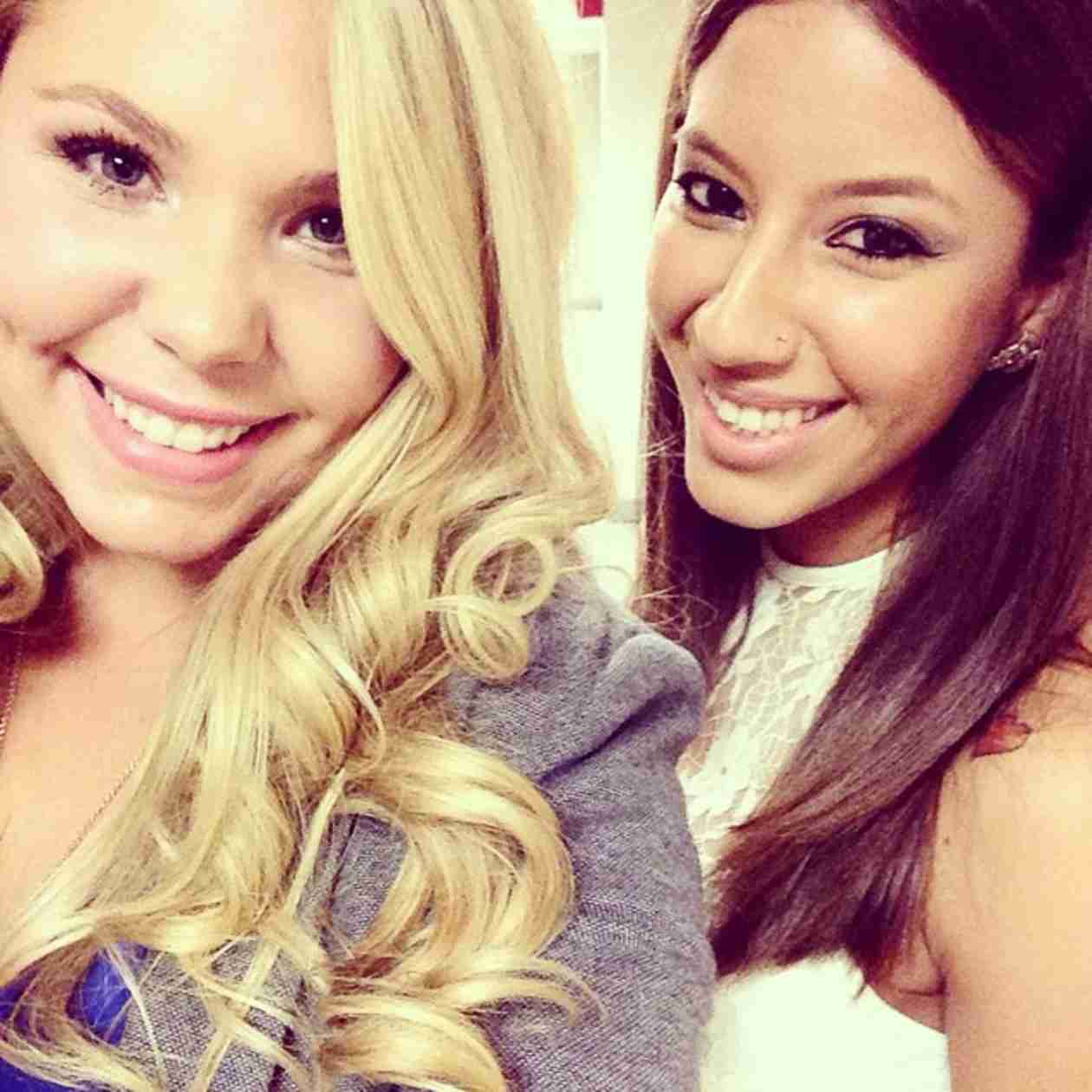 Kailyn Lowry and Vee Torres Take a Selfie — Bestie Alert! (PHOTO)