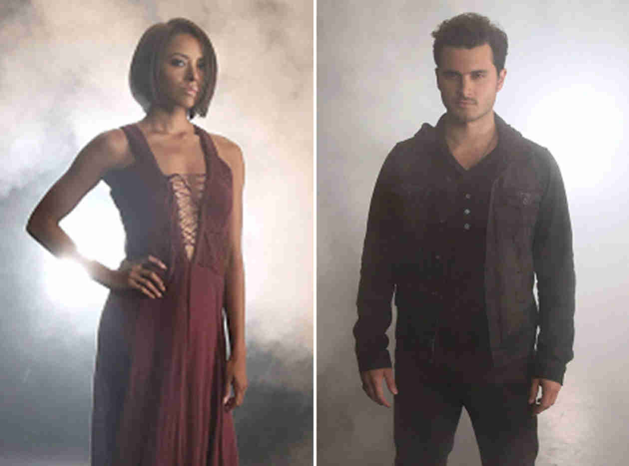 Vampire Diaries Season 6: First Look at Bonnie and Enzo! (PHOTOS)