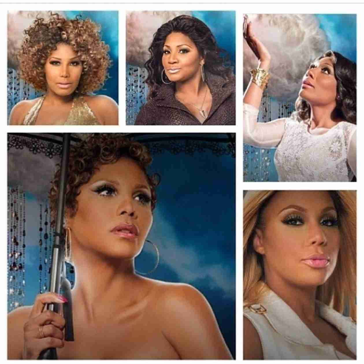 The Braxton Sisters Do a Little Smoking in Jamaica! (VIDEO)