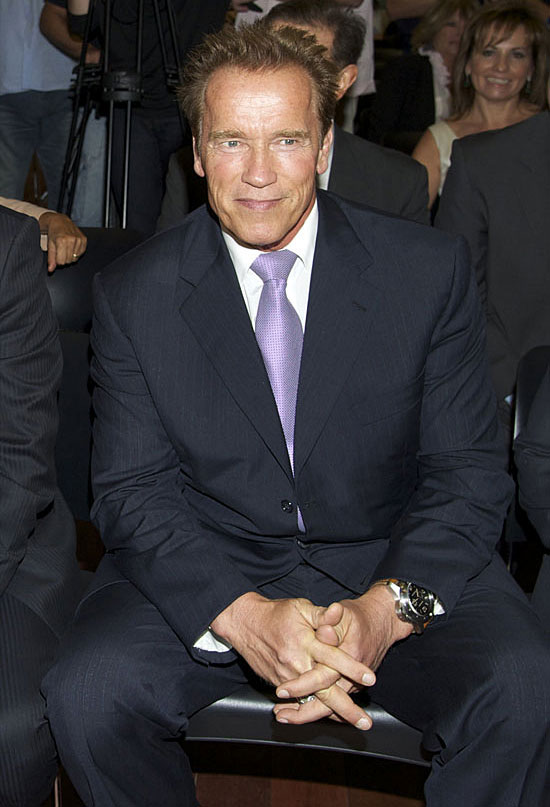 Arnold Schwarzenegger's Love Child Grew Up! — See the Latest Pic (PHOTO)