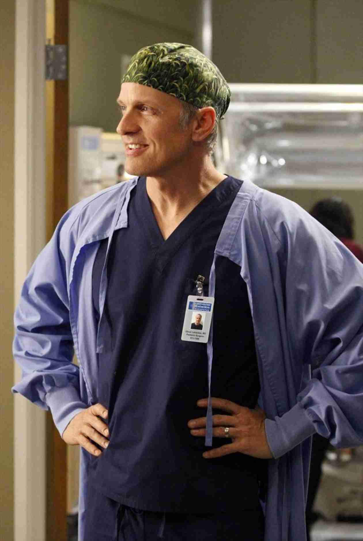 "Grey's Anatomy Season 11 Pages ""Dr. Butthole"" — Patrick Fabian Back on Set!"