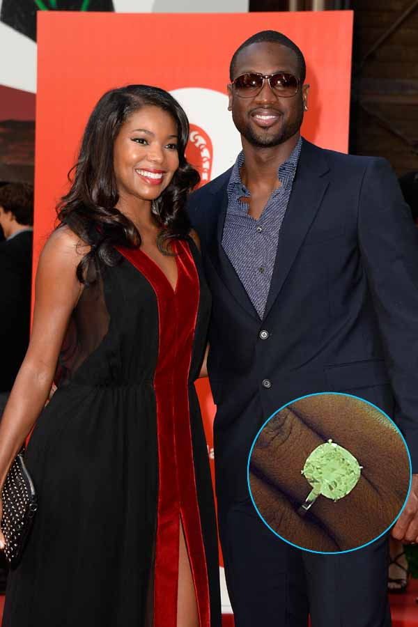 "Dwyane Wade and Gabrielle Union — See Proposal in Cute ""Save the Date"" Video!"