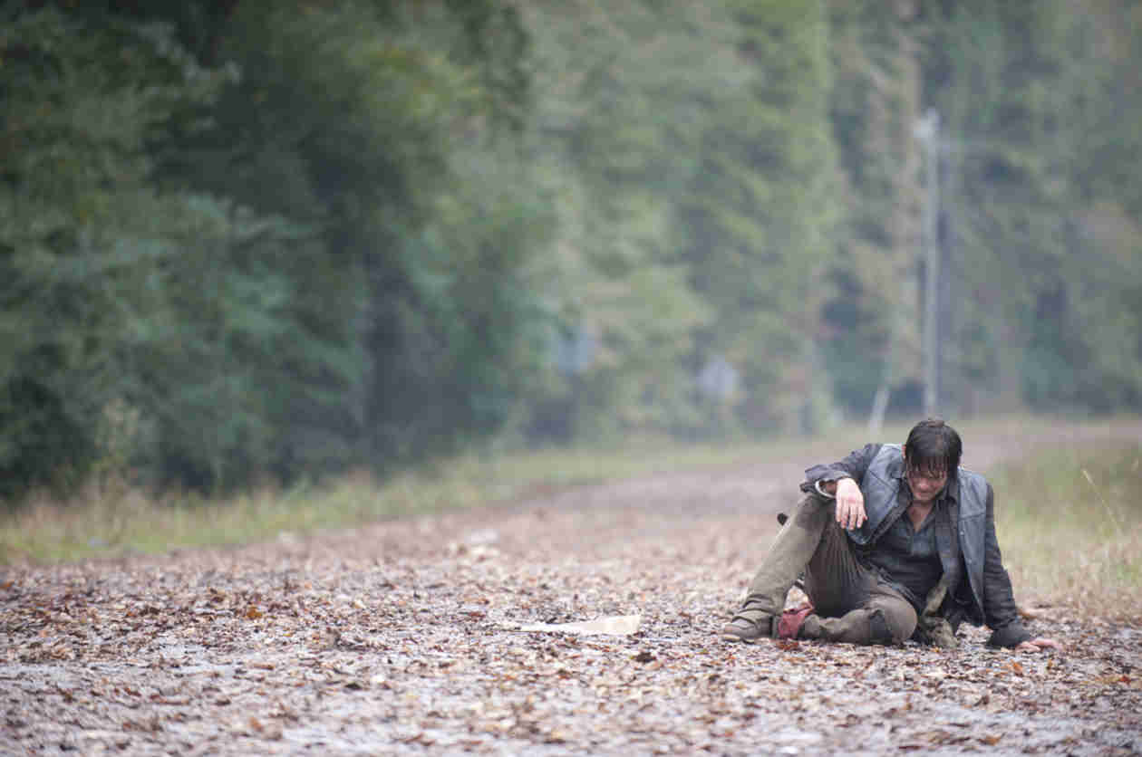 Fans Decode Norman Reedus' The Walking Dead Season 5 Set Song Tease — U2 and Kleenex?