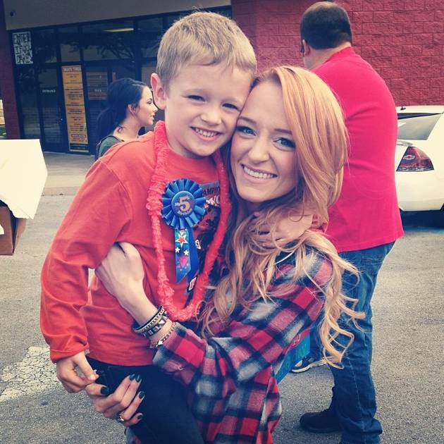 Maci Bookout's Son Bentley Edwards Loses His First Tooth! (PHOTO)